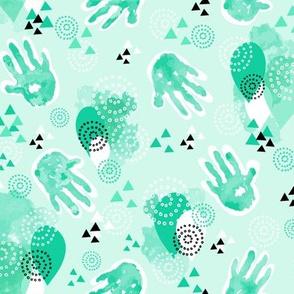 little hand prints