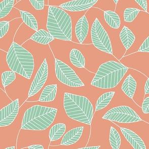 Terracotta Leaf