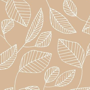 Etched Leaf