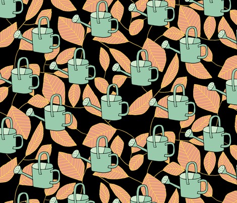 Yes You Can fabric by seesawboomerang on Spoonflower - custom fabric
