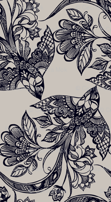 Lace Birds {Ink} - micro scale - Railroad