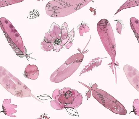Spring Garden fabric by sofiasonice on Spoonflower - custom fabric