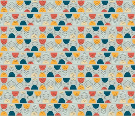 Geo Split fabric by ameemax on Spoonflower - custom fabric