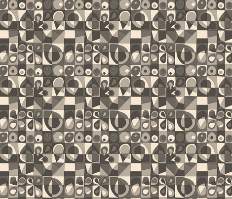 Sketch Quilt Stones fabric by ameemax on Spoonflower - custom fabric