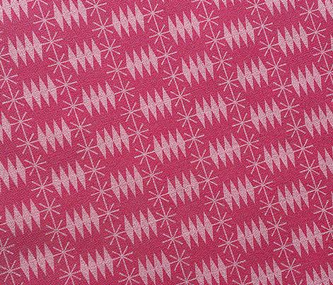 Postmark* (Pink Riot) || snail mail postage envelope post postal geometric diamonds stars atomic midcentury modern