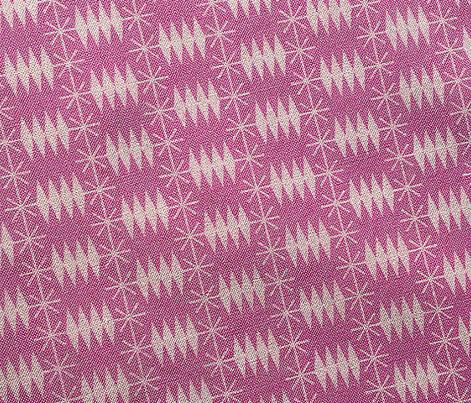Postmark* (Pink Liza) || snail mail postage envelope post postal geometric diamonds stars atomic midcentury modern