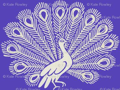 Peacock (purple)