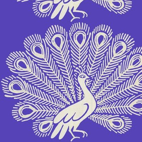 Peacock (purple)