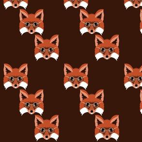 Smart Foxes in Monochrome