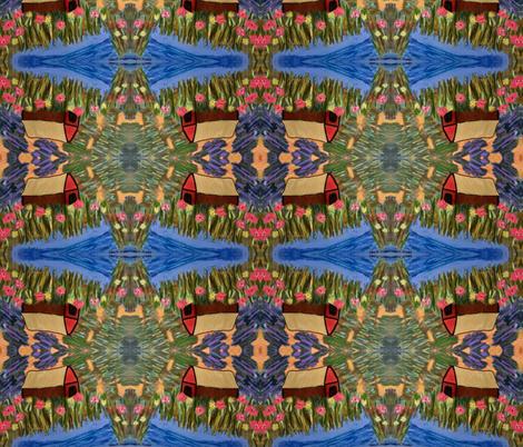 Struck Gold fabric by valerie_dortona on Spoonflower - custom fabric