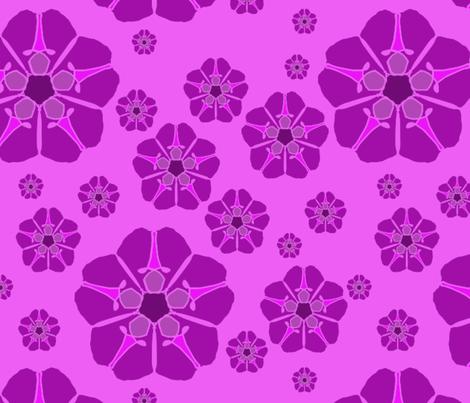MONO 2018 FLOWER fabric by miriamcarnase on Spoonflower - custom fabric