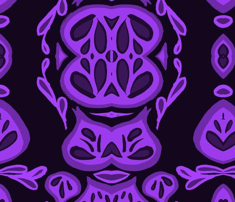 Purple Dreams fabric by copapod on Spoonflower - custom fabric