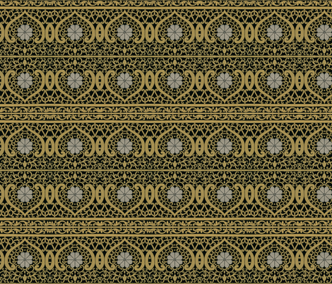 indo-persian 412 fabric by hypersphere on Spoonflower - custom fabric