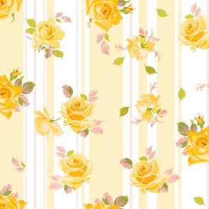 Sophie Charlotte buttercup stripe