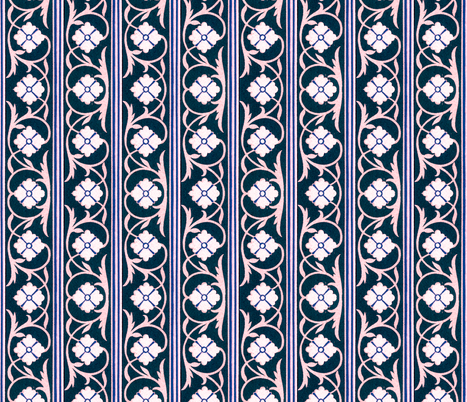 indo-persian 418 fabric by hypersphere on Spoonflower - custom fabric