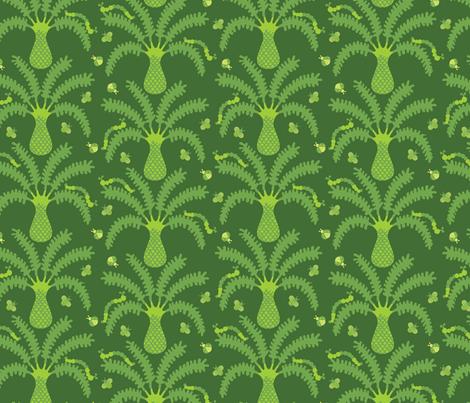 jungle bugs fabric by jarstudio on Spoonflower - custom fabric