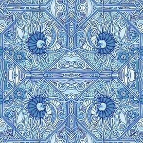 Garden Tile Blues