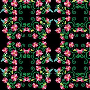 Fairy Garden Pattern