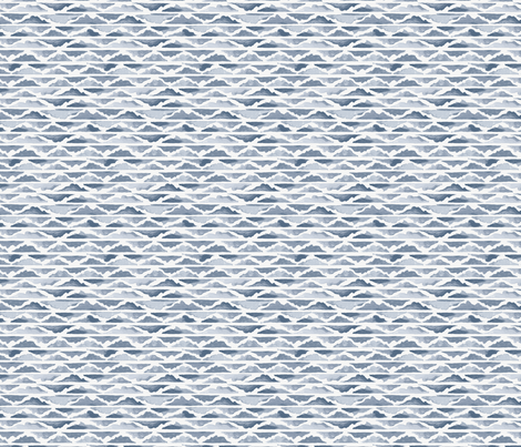 Valley in Soft Blue fabric by sewnhandmade on Spoonflower - custom fabric