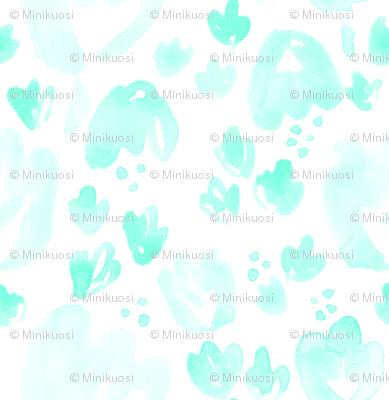 Mint Spring Flowers