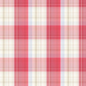 F-Plaid Red