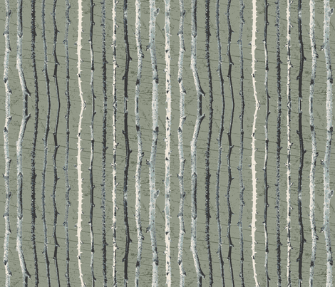 Rustic Twigs Sage fabric by tallulah_graphics on Spoonflower - custom fabric