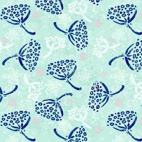 Herbal batik #5 (mint)