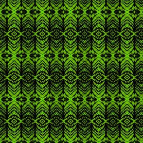 Shibori Stripe Lime