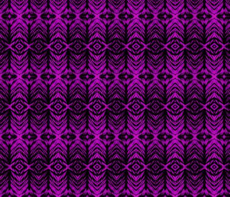 Shibori Stripe Fuchsia fabric by fabricadabra_creations on Spoonflower - custom fabric