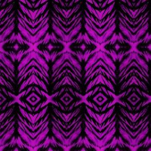 Shibori Stripe Fuchsia