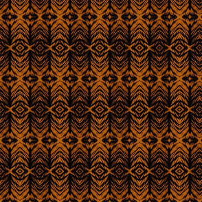 Shibori Stripe Amber