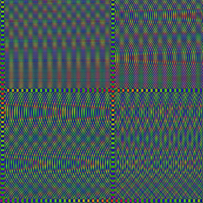 Moving colorfull rainbow colors small patterns