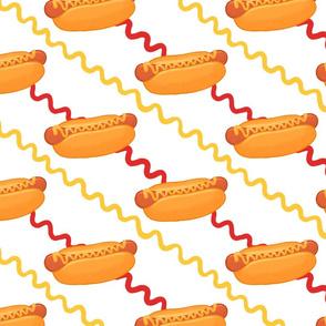 hot dog summer cookout
