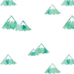 (large scale) Mountains // green C18BS