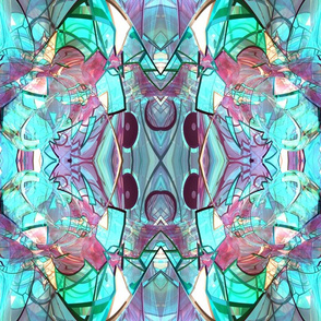 Crystal Dreams (Blue and Pink)