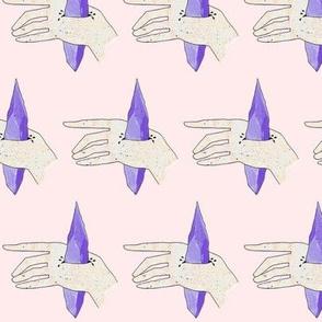Amethyst Hands