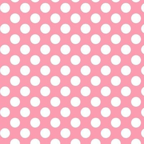 Pink Polka dots // Ice cream shades of pink