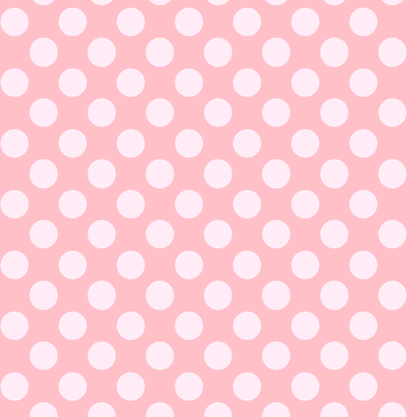 Pink Polka dots // Ice cream shades of pink fabric by magentarosedesigns on Spoonflower - custom fabric