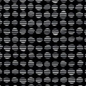 Stripe The Dots - Grey