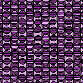 Stripe The Dots - Purple