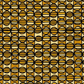 Stripe The Dots - Yellow