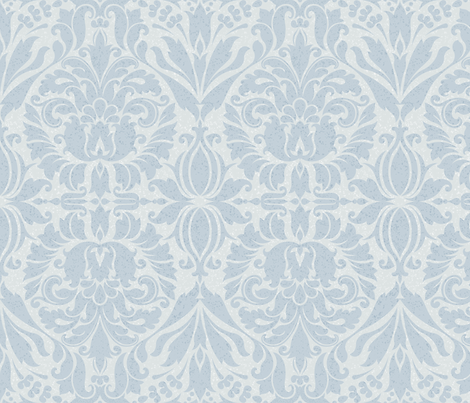 Shaded Damask light mix  fabric by stitchyrichie on Spoonflower - custom fabric