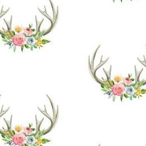 pastel antlers
