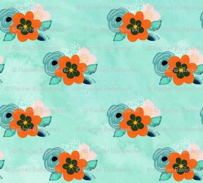 marigold_floral_spoonflower