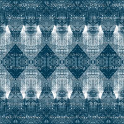 Four rombs monochrome