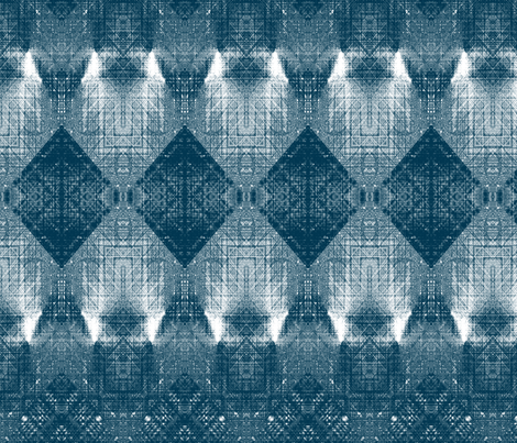Four rombs monochrome fabric by snarets on Spoonflower - custom fabric