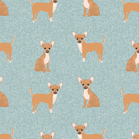 chihuahua pet quilt b dog breed cheater quilt coordinate fabric fabric by petfriendly on Spoonflower - custom fabric
