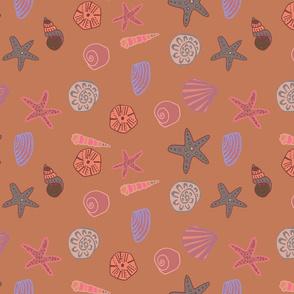 coral happy shells