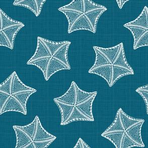Sea Stars Blue