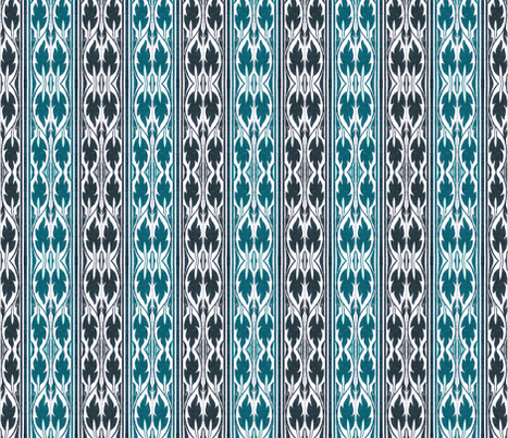 indo-persian 445 fabric by hypersphere on Spoonflower - custom fabric